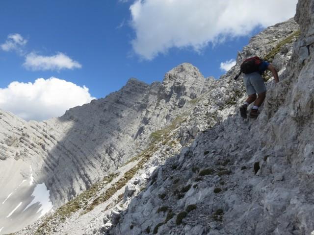 ja, es ist noch eine gute Strecke zum Gipfel