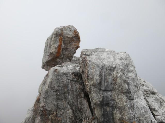 Steinkopf, weithin sichtbar