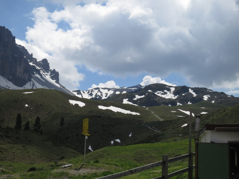 der Gamskogel rechts dem Seejöchl