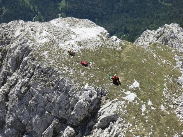 Basislager am Plateau