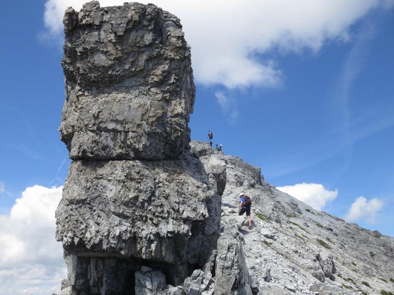 letzter Verbindungsanstieg am Südausläufer der Großen Ochsenwand