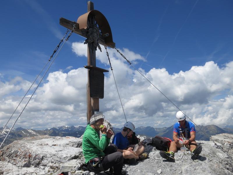 Am Gipfel der Großen Ochsenwand, 2.700m