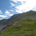 Aufstiegsgrat Vom Westen