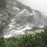 Der Sturzbach Kreuzt Den Steig Aber Harmlos Zu Begehen