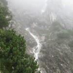 Sturzbach Am Abstieg Min Vor Der Katzenleiter