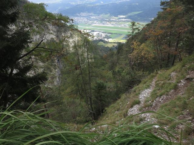 am Schleifwandsteig nahe des Hechenbergls