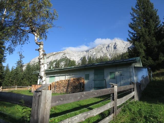 Apachhütte 1.535m