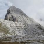 Blick Zur Gewaltigen Pyramide Des Kleinen Solstein
