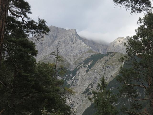 Blicke vom Schleifwandsteig gen Norden