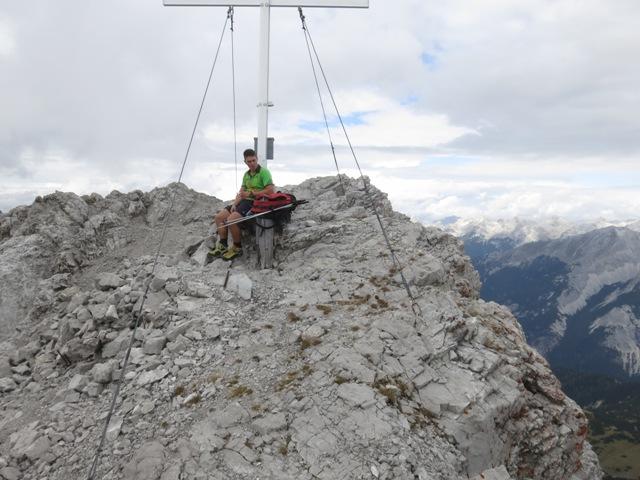 Gipfel Kleiner Solstein, 2.637m