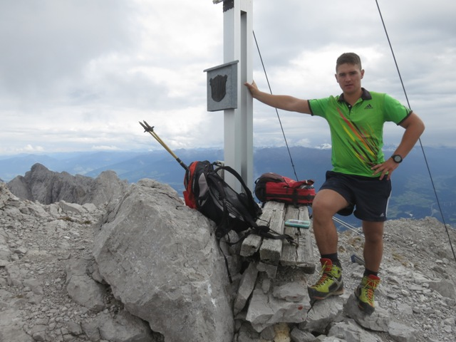 höchste Erhebung der Nordkette, Gipfel Kleiner Solstein