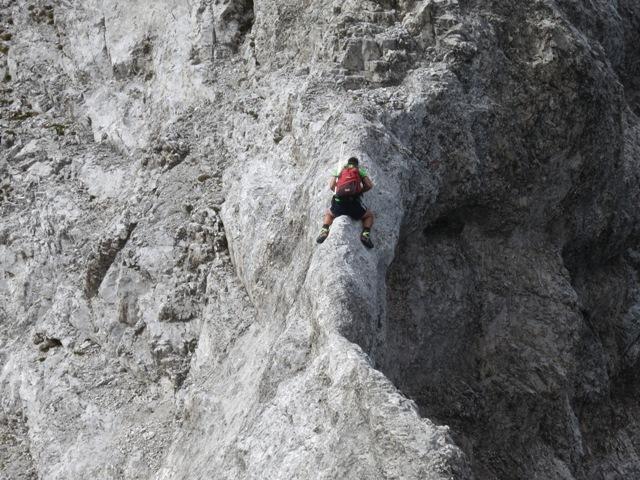 Reitergrad, die schlußendliche altbewährte Technik der Überquerung