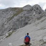 Tiefpunkt Des Abstieges Vom Kleinen Solstein In Richtung Grosser Solstein
