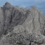 Vom Gipfel Kleiner Solstein Auf Die Hohe Warte Und Die Brandjochspitzen