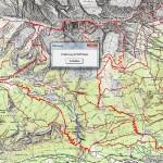 Wegstrecke Ueberschreitung Brandjochspitzen Kleiner Solstein