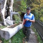 Brunnen Bei Der Alpensoehnehuette