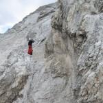 Der Anstieg Zum Grat Des Ostecks