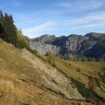 Der Vomper Ruecken Mit Geologisch Interessanten Formationen