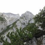 Fallbachkarspitze Mit Bettelwurf Osteck Im Hintergrund Links