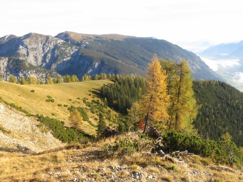 das Vomperjoch, ein Geschichtsbuch der Karwendelgeologie