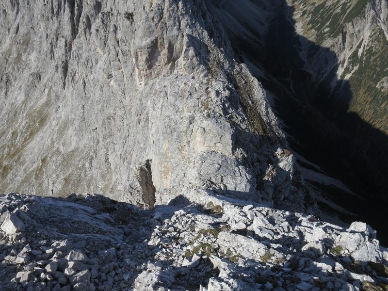 das nächste Projekt, der Abstieg vom Schneekopf zu den Niedernissltürmen