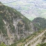 Aufstiegsroute Von Guggermauer Zu Einem Koepfl