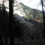 Die Abzweigung Zur Linken Talseite