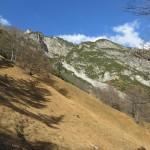 Rueckblick Auf Die Moegliche Aufstiegsroute Zum Hochmahdkopf