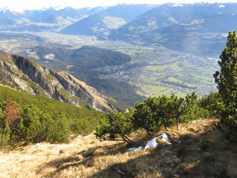 steile Wiesen im oberen Teil ab ca. 1800m