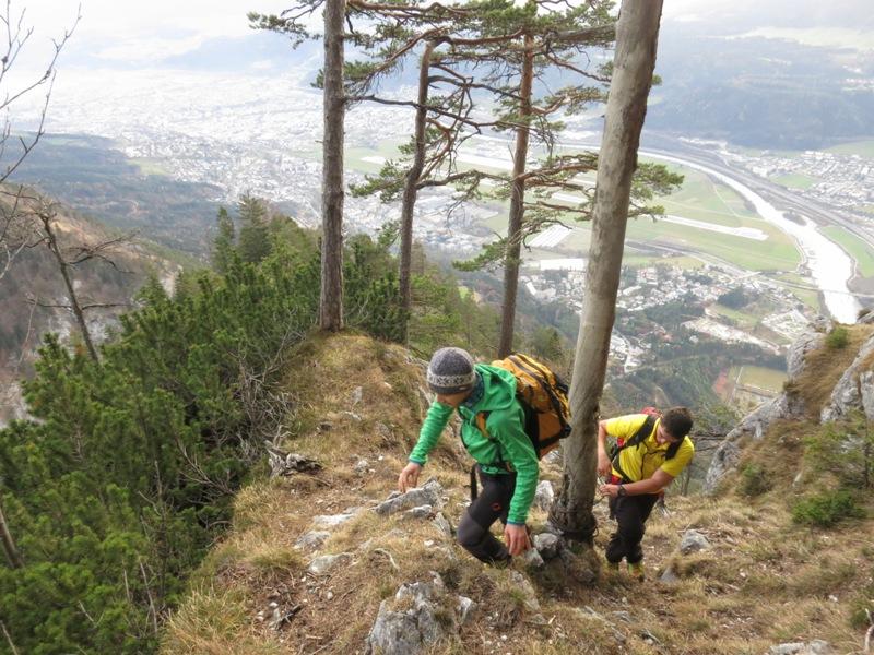 weiter am Steig zum Hechenberg Ostgipfel