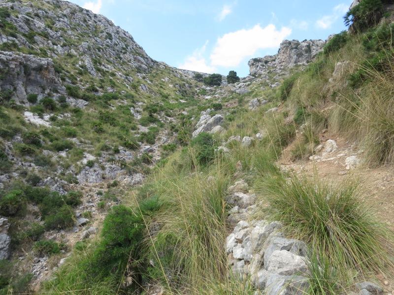 Anstieg zum hintersten Talboden