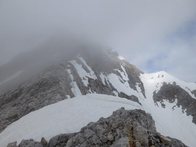 auf ca. 2.500m, in Höhe des Lafatscher Roßkopfes