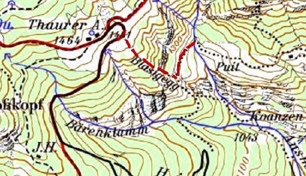 Ausschnitt AV-Karte