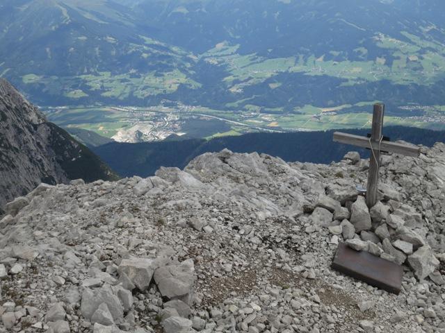 Vomperbach und Pirchat, von dort habe ich die Huderbankspitze oft bewundert