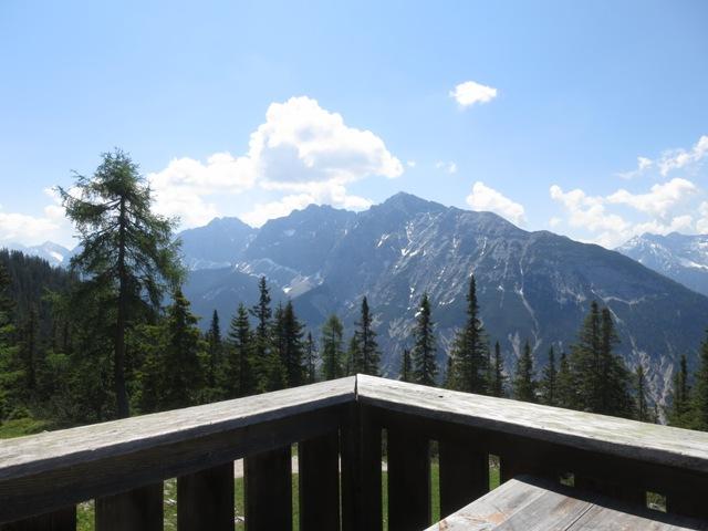 Aussicht Richtung Südost von der Pleisenhütte