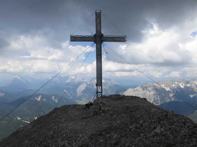 Gipfelkreuz Hoher Gleirsch 2.491m