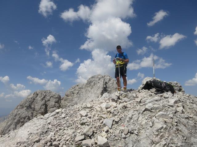 Gipfel der Südlichen Jägerkarspitze