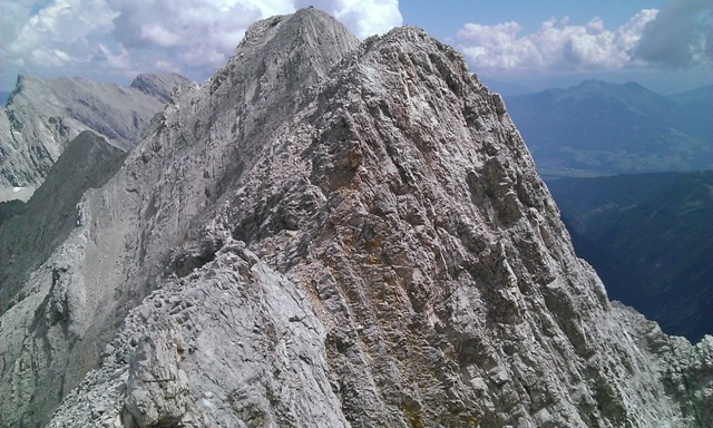 erste Störzone im Fels