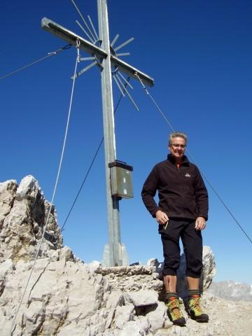 Gipfel der Trattenspitze, 2.510m