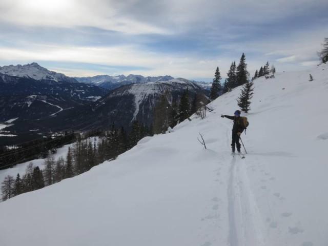 Ausstieg aus dem Anstieg zum Gipfel