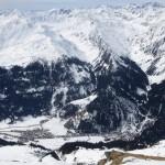 das Bergwerk im Ridnaunertal, weit dahinter die südlichen Ötztaler