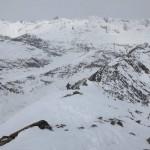 Abmarsch vom Gipfel