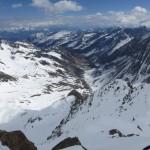 Blick in das Längental, im Hintergrund eher links der westlichste Teil des Karwendels