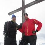 Christian und ich am Hohem Seeblaskogel, 3.235m