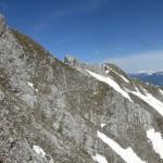 Rückblick zur Lattenspitze