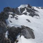 Gipfelaufbau Trattenspitze 22.05. 2016