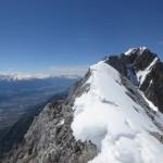 Grat zur Walderkampspitze
