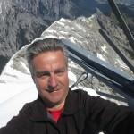 Autor auf der Trattenspitze (schlimm diese Fotos und wenn möglich zu vermeiden)
