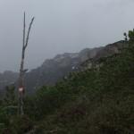 markante Stelle kurz vor der Verflachung auf 2.043m