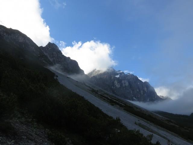 Kirchdachspitze fast nebelfrei juhu!